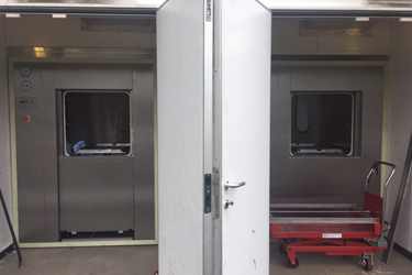 Thirteen year old Astell autoclaves replaced like-for-like in SASA upgrade
