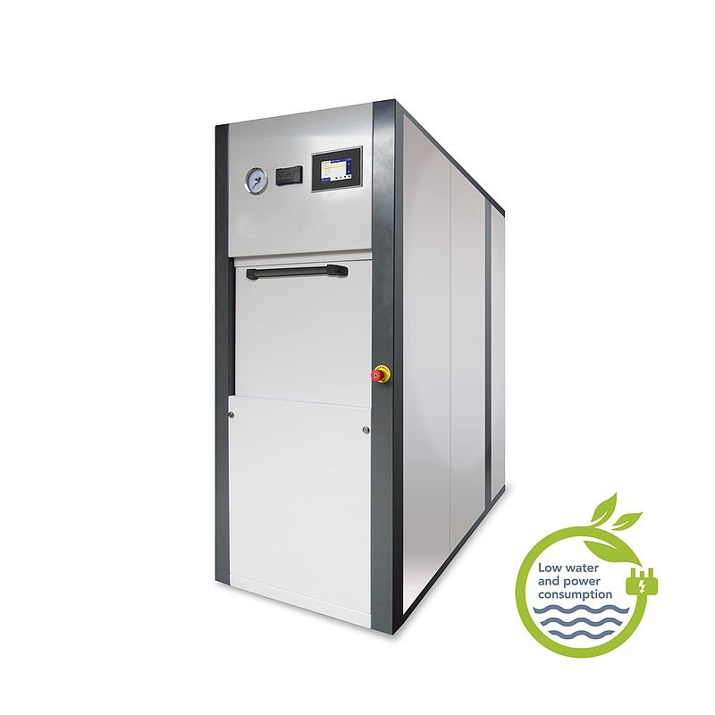 Eco square section autoclave