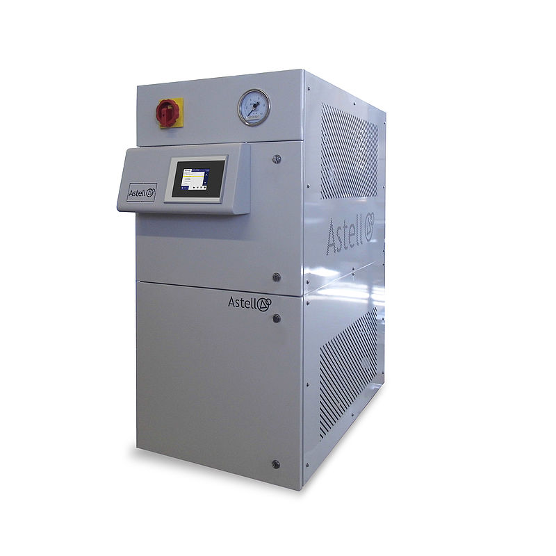 24kW-48kW compact steam generator