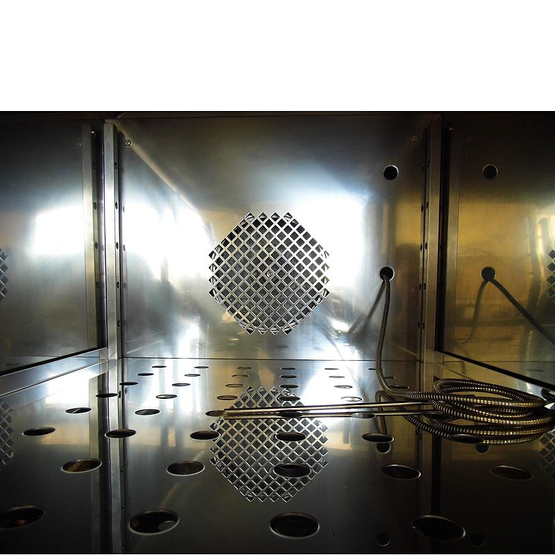 Electropolished stainless steel chamber