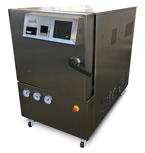 STAINLESS STEEL 247 LITRE CIRCULAR AUTOCLAVE
